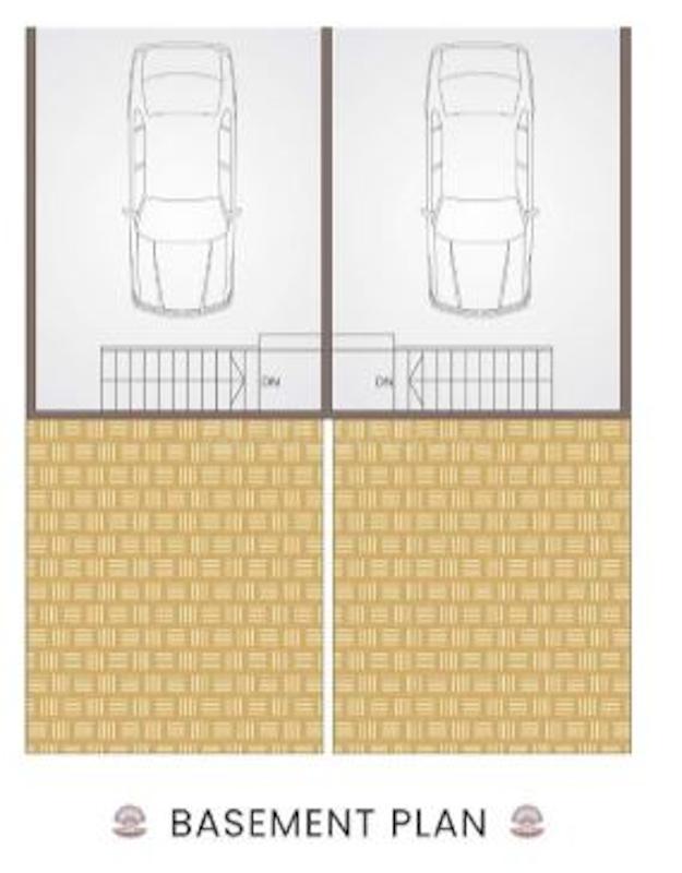 Ekveera Shimmer Ocean Pearl Floor Plan: 2 BHK Unit with Built up area of 1380 sq.ft 4