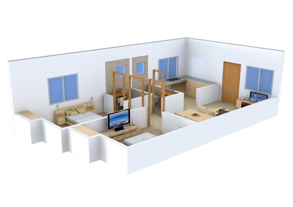 Floor Plan Image of 0 - 771.0 Sq.ft 2 BHK Apartment for buy in Sri Kishore Reema Castle