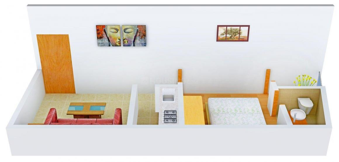 Floor Plan Image of 450 - 800 Sq.ft 1 BHK Independent Floor for buy in G. R. Buildwell Site - 2