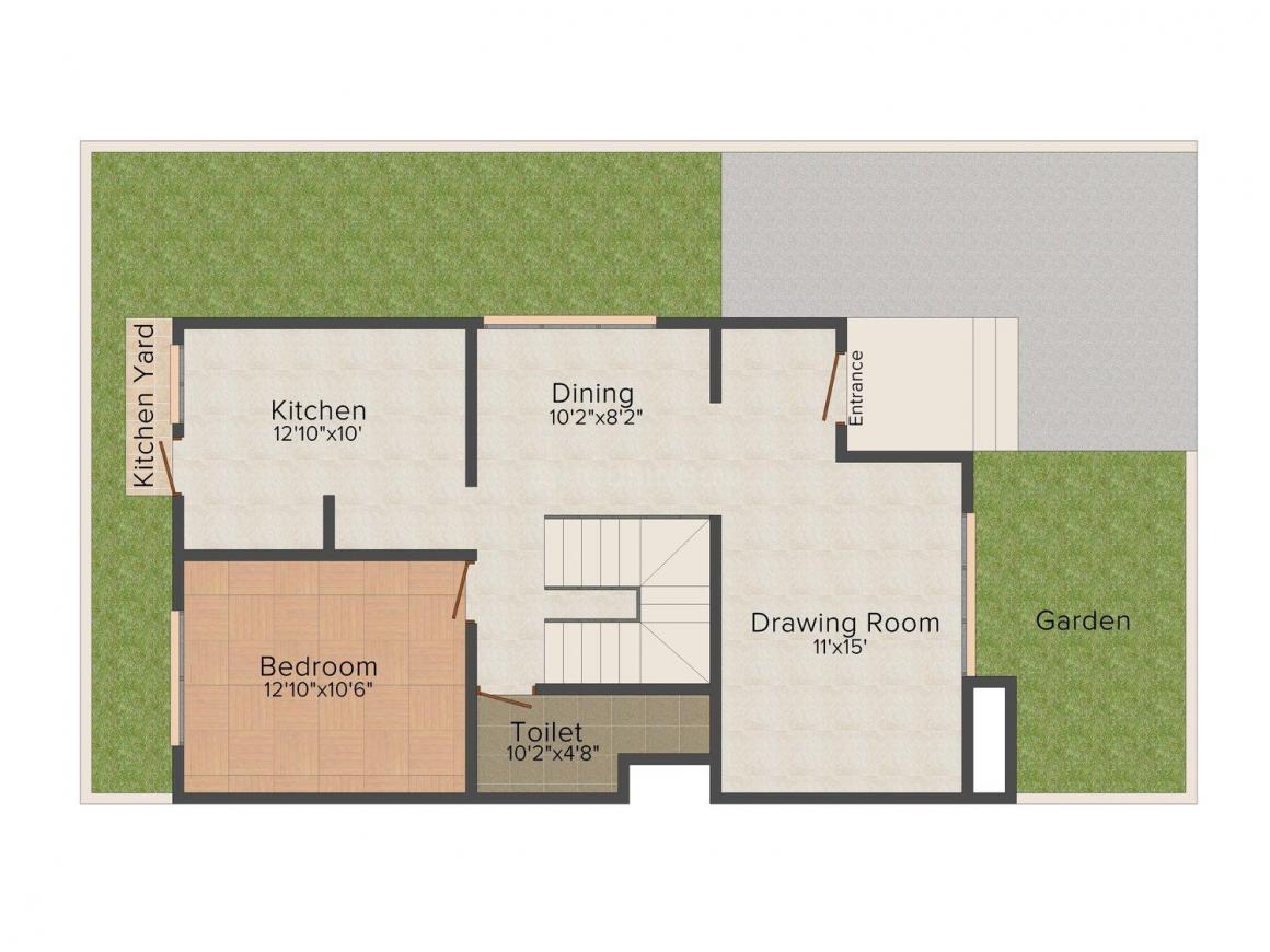 Floor Plan Image of 0 - 2700.0 Sq.ft 4 BHK Bungalow for buy in Armaan Bungalows