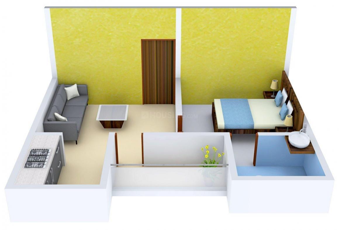 Floor Plan Image of 510 - 920 Sq.ft 1 BHK Builder Floor for buy in Radhey Krishna Apartment