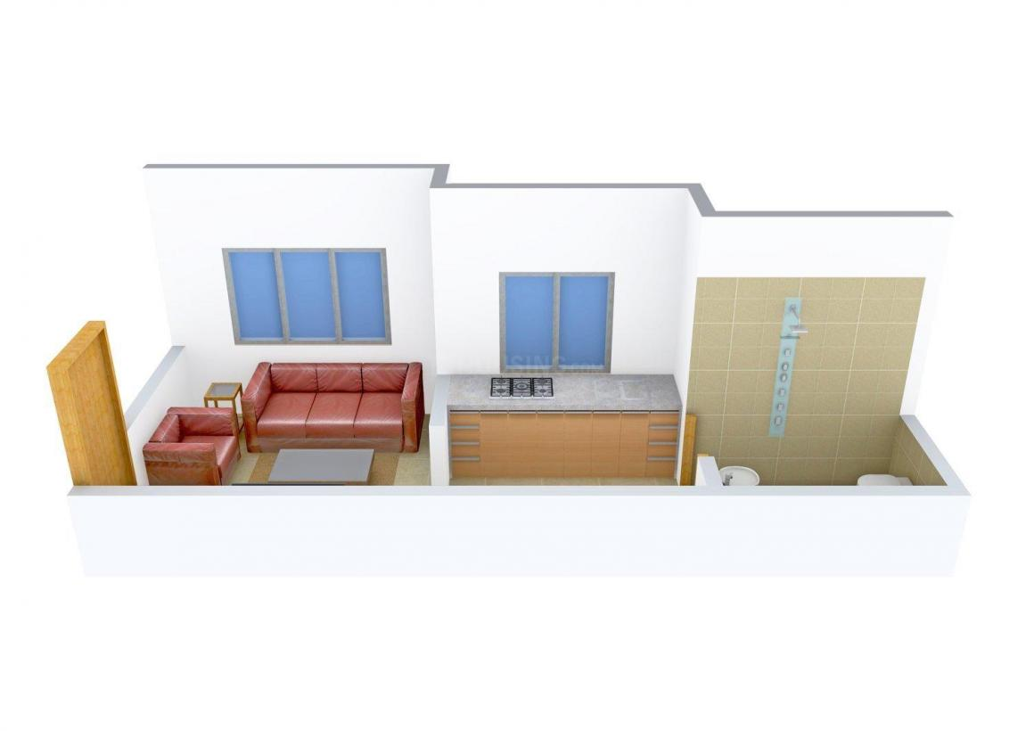 Floor Plan Image of 260 - 505 Sq.ft 1 RK Apartment for buy in Bhoomi India-1