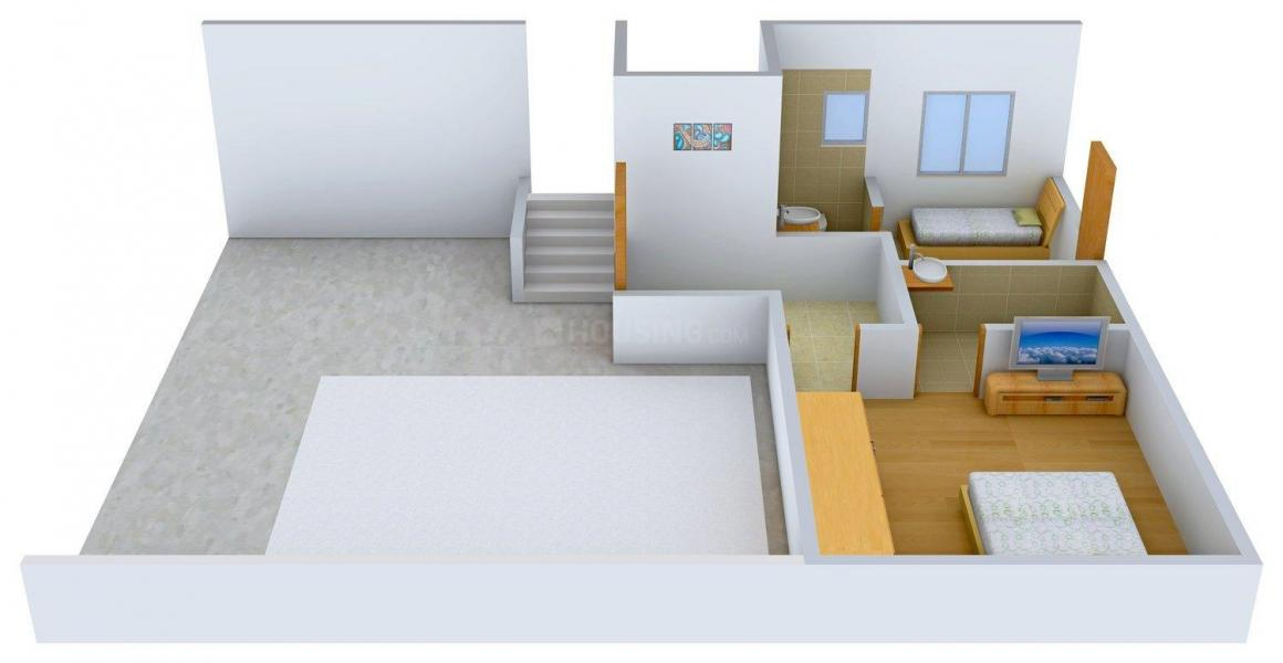 Arham Felicia Floor Plan: 4 BHK Unit with Built up area of 3252 sq.ft 5