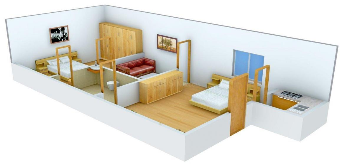 Floor Plan Image of 0 - 600.0 Sq.ft 2 BHK Independent Floor for buy in Yash Homes - 5