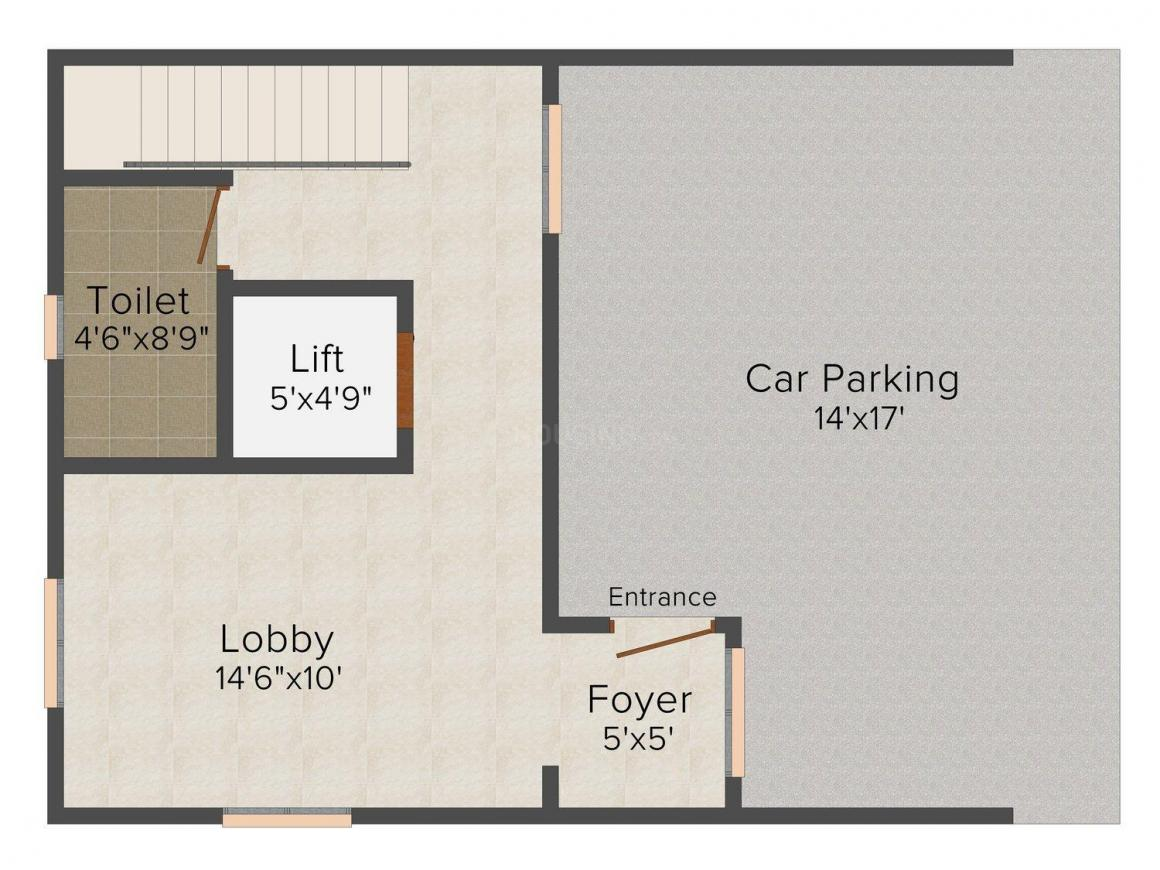 Floor Plan Image of 2571 - 2573 Sq.ft 3 BHK Villa for buy in Vijay Raja Navarathna