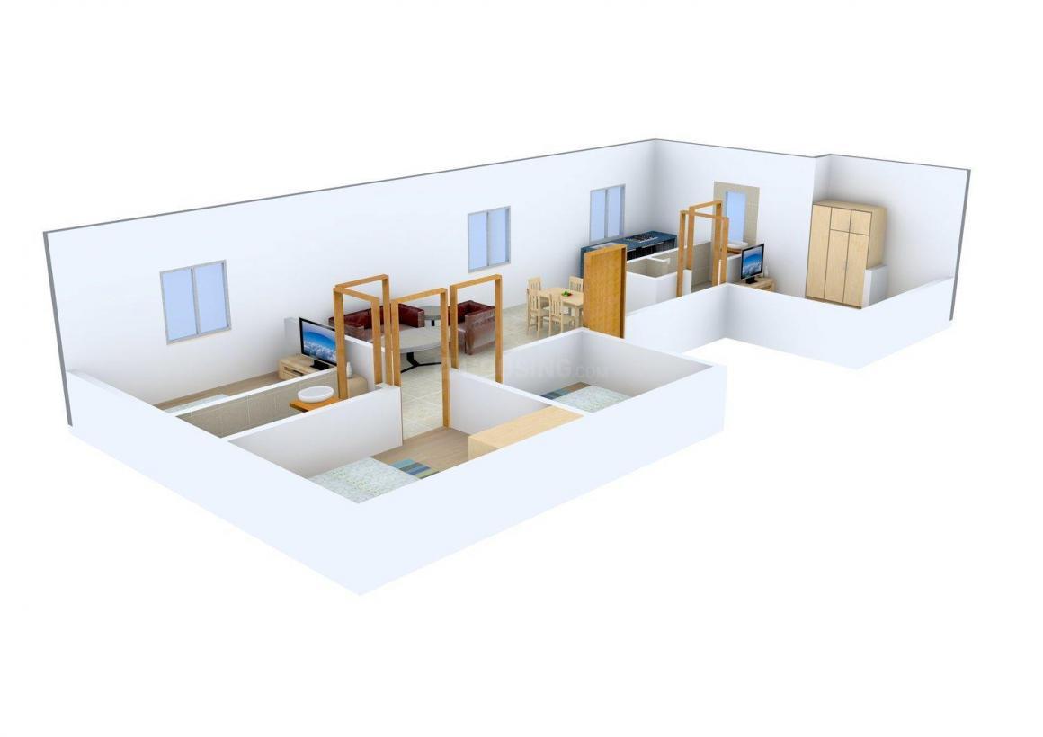 National Builder Floor - 1 Floor Plan: 4 BHK Unit with Built up area of 2000 sq.ft 1