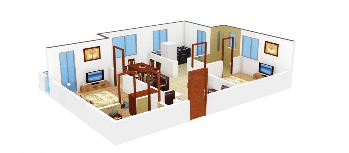 Floor Plan Image of 0 - 1035 Sq.ft 2 BHK Apartment for buy in Sri Laxmi Niwas