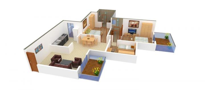 Ashiana landcraft the center court in sector 88a gurgaon for Landcraft homes floor plans