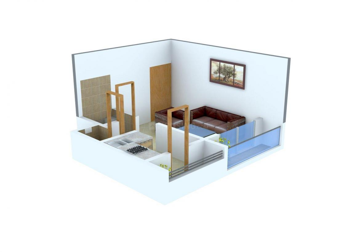 Floor Plan Image of 245.0 - 582.0 Sq.ft 1 RK Apartment for buy in Bhagat Green