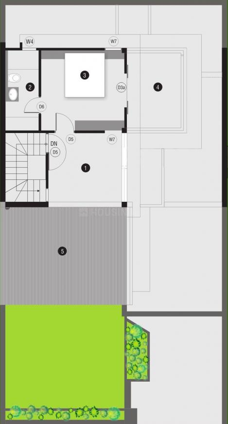 Pacifica The Meadows Floor Plan: 4 BHK Unit with Built up area of 2700 sq.ft 1