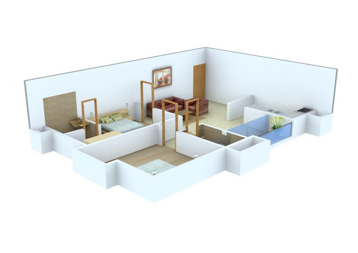 Floor Plan Image of 1130.0 - 1295.0 Sq.ft 2 BHK Apartment for buy in RC RC Enclave