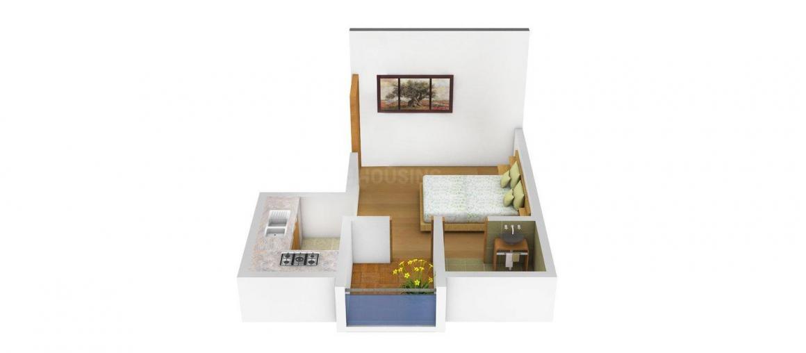 1 RK Studio Apartment