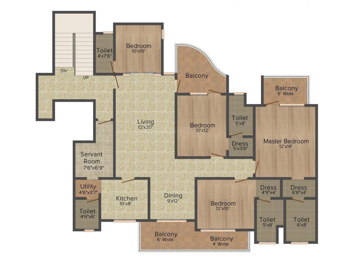 Emaar Palm Terraces In Sector 66 Price Reviews Floor Plan