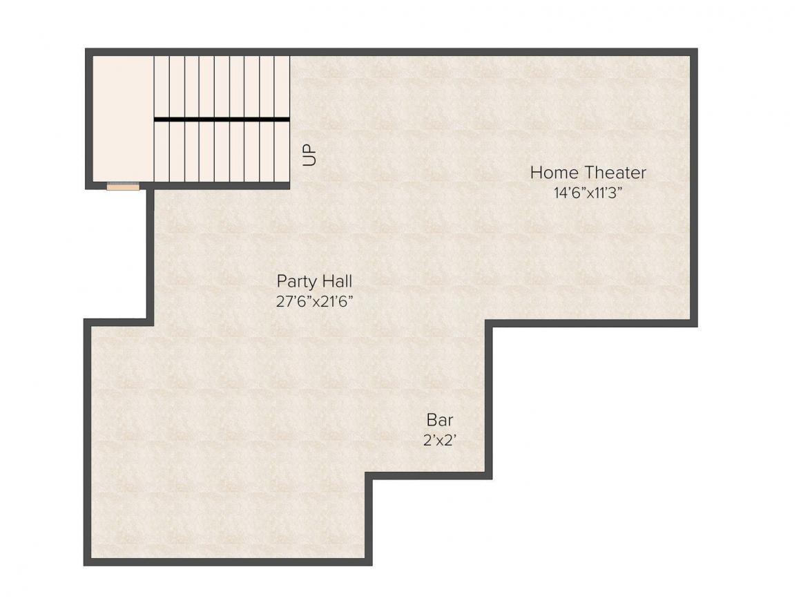 Floor Plan Image of 0 - 4500.0 Sq.ft 4 BHK Independent Floor for buy in Pioneer Floors - 8