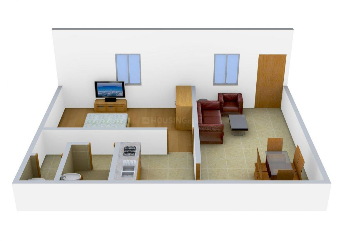 Floor Plan Image of 0 - 1500 Sq.ft 1 BHK Villa for buy in Royal Planet Pavitra Park