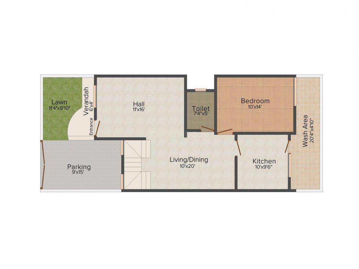 2D - Ground Floor