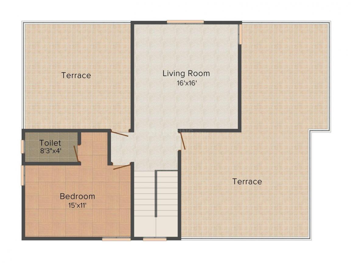 Floor Plan Image of 0 - 1882 Sq.ft 3 BHK Villa for buy in Green Field Nachatra Home - Erode