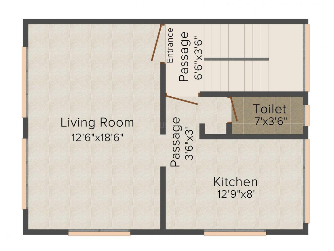 Mehta Bhoomi Villa Floor Plan: 3 BHK Unit with Built up area of 2590 sq.ft 1