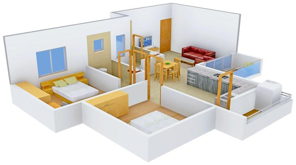 Floor Plan Image of 1190 - 2475 Sq.ft 2 BHK Apartment for buy in Navkarr Nxt