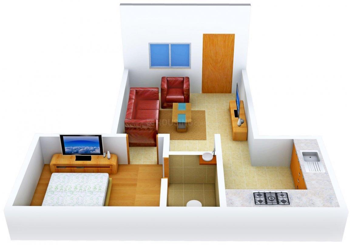 Floor Plan Image of 480.0 - 770.0 Sq.ft 1 BHK Independent Floor for buy in Thanjai Senthamiz Nagar