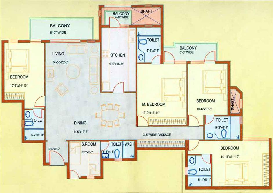Dlf Westend Heights In Sector 53 Price Reviews Floor Plan