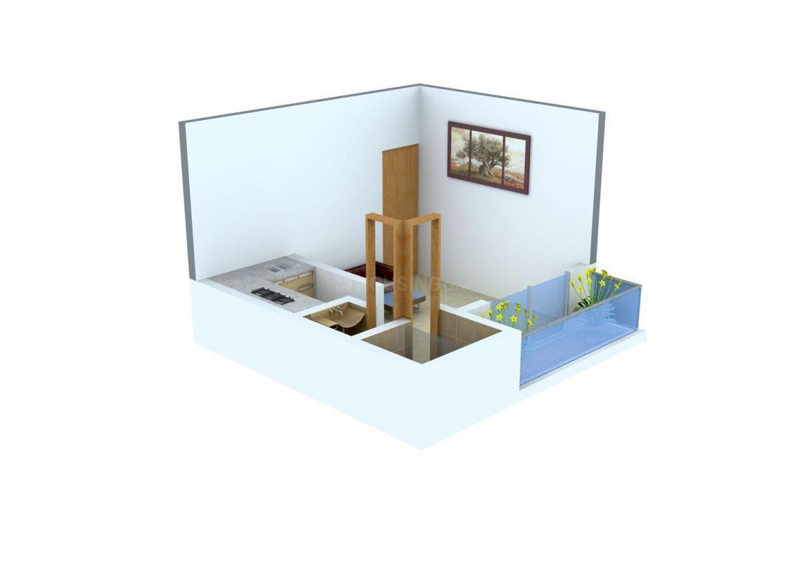 Floor Plan Image of 270 - 320 Sq.ft 1 RK Apartment for buy in Vanjara Shree Krupa