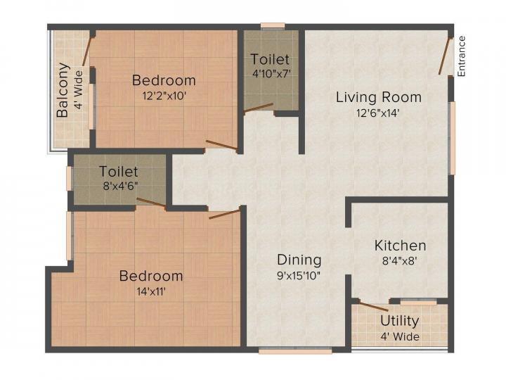 layout of serenity