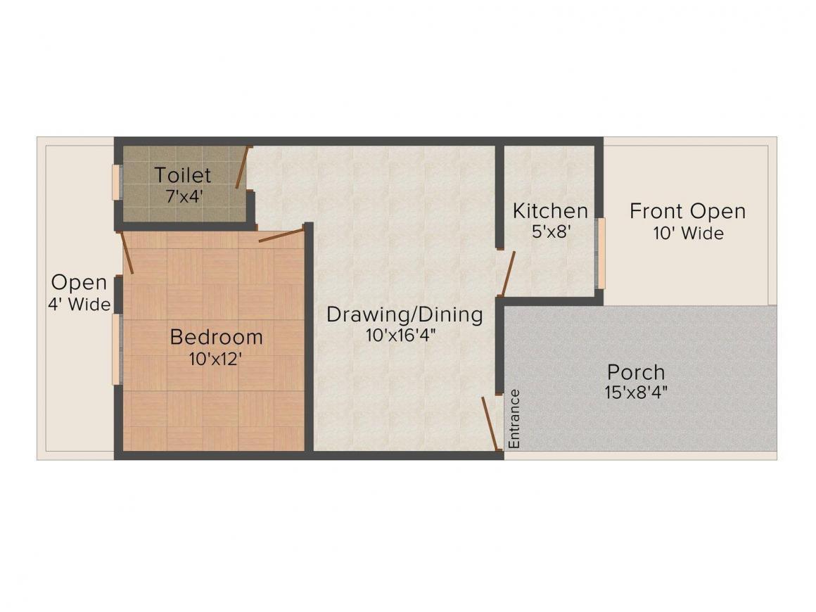1 BHK Row House