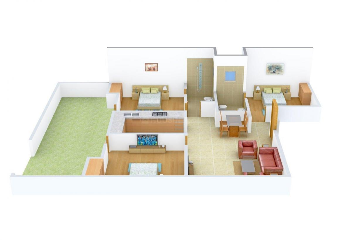 Floor Plan Image of 1179.0 - 1440.0 Sq.ft 3 BHK Independent Floor for buy in Sagar Floors