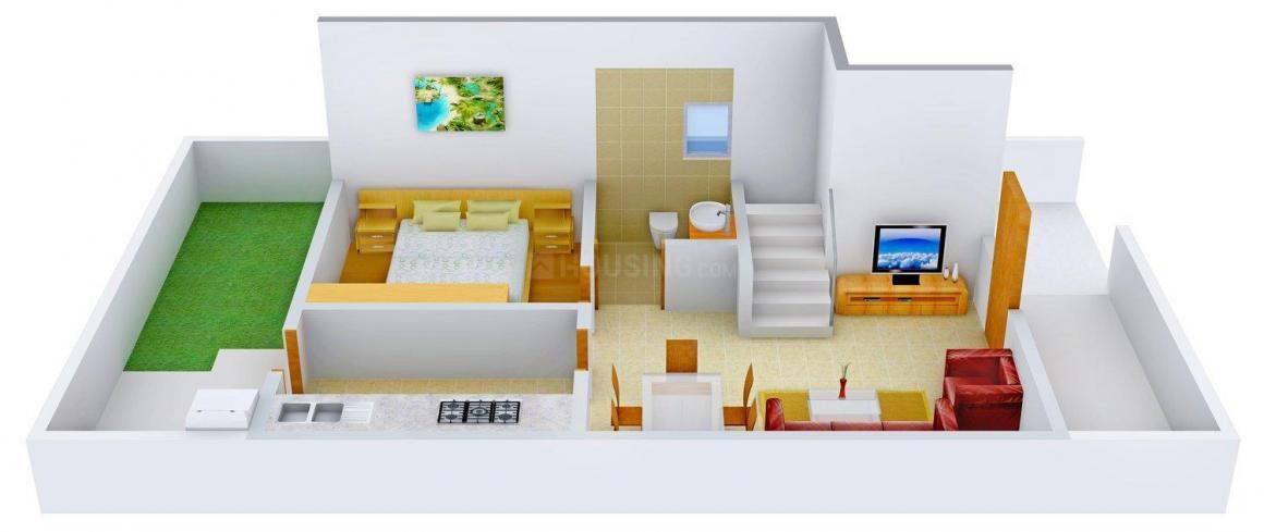 Floor Plan Image of 0 - 1535 Sq.ft 3 BHK Duplex for buy in Haridarshan Duplex