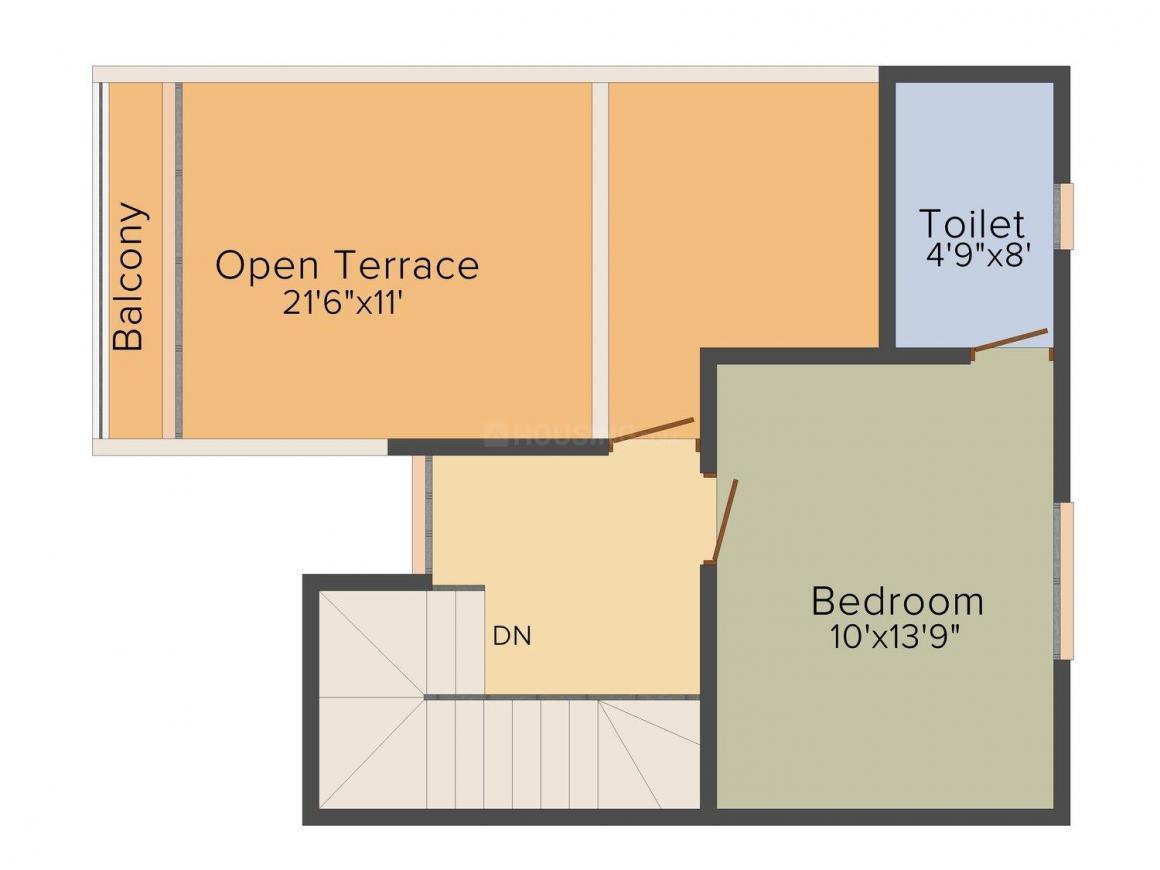 Avirat Silver Parikrama Floor Plan: 4 BHK Unit with Built up area of 2610 sq.ft 2