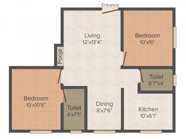 jkb elite in mugalivakkam chennai 2 - Jkb Homes Floor Plans