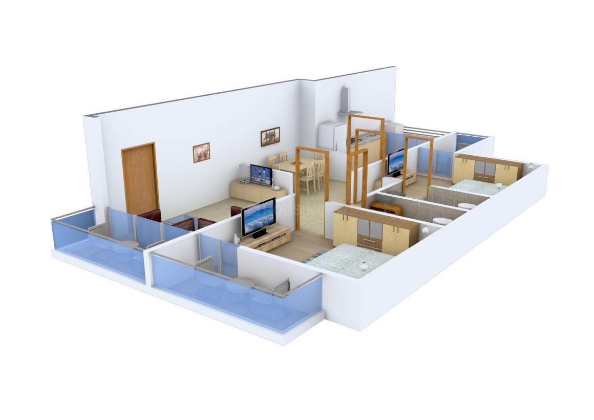 Probuild Four Seasons Residences III in Karpagambal Nagar – Four Seasons Housing Floor Plans