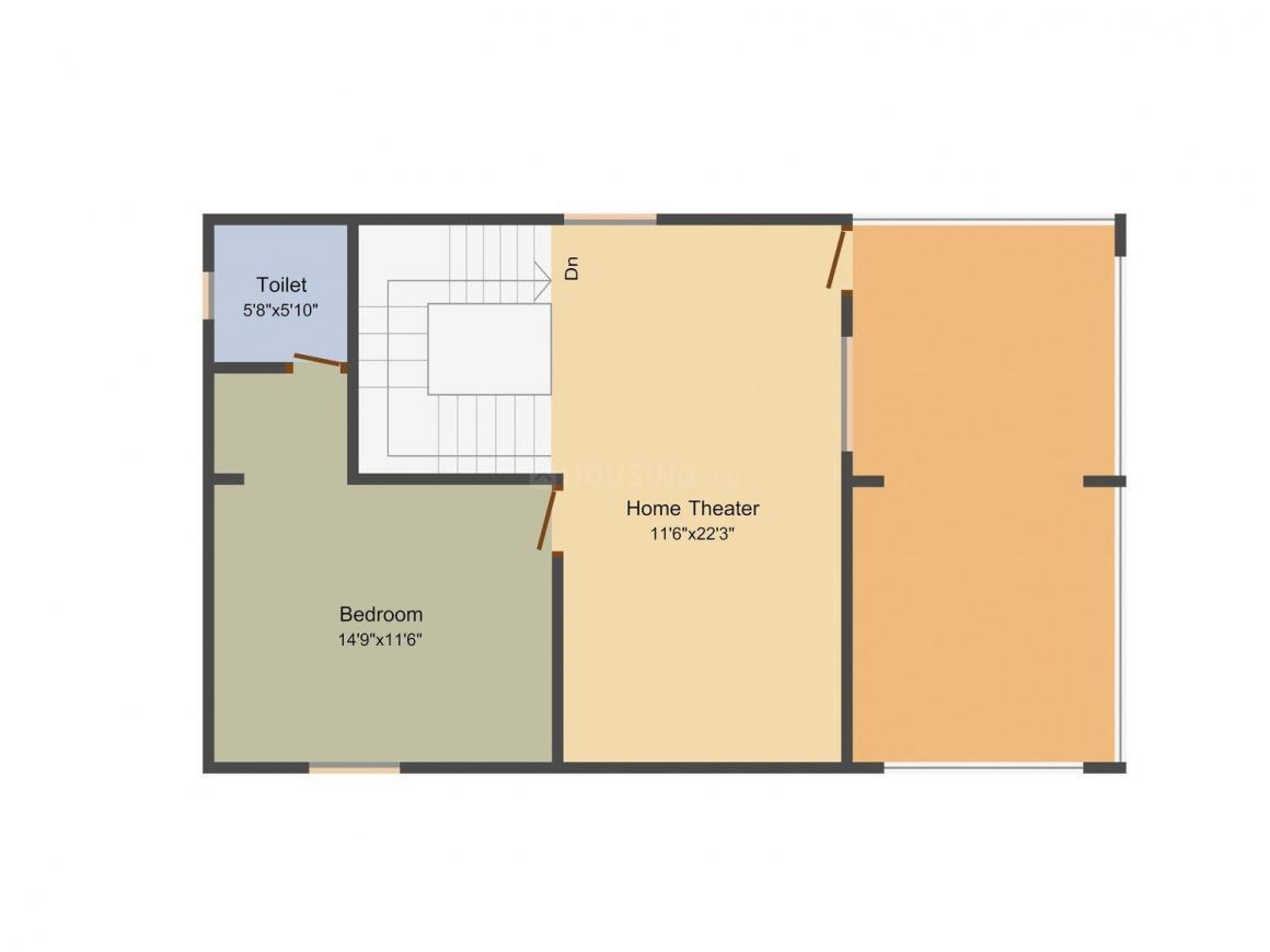 Floor Plan Image of 2640 - 3180 Sq.ft 4 BHK Villa for buy in Satyadeva Satyadeva Dreams
