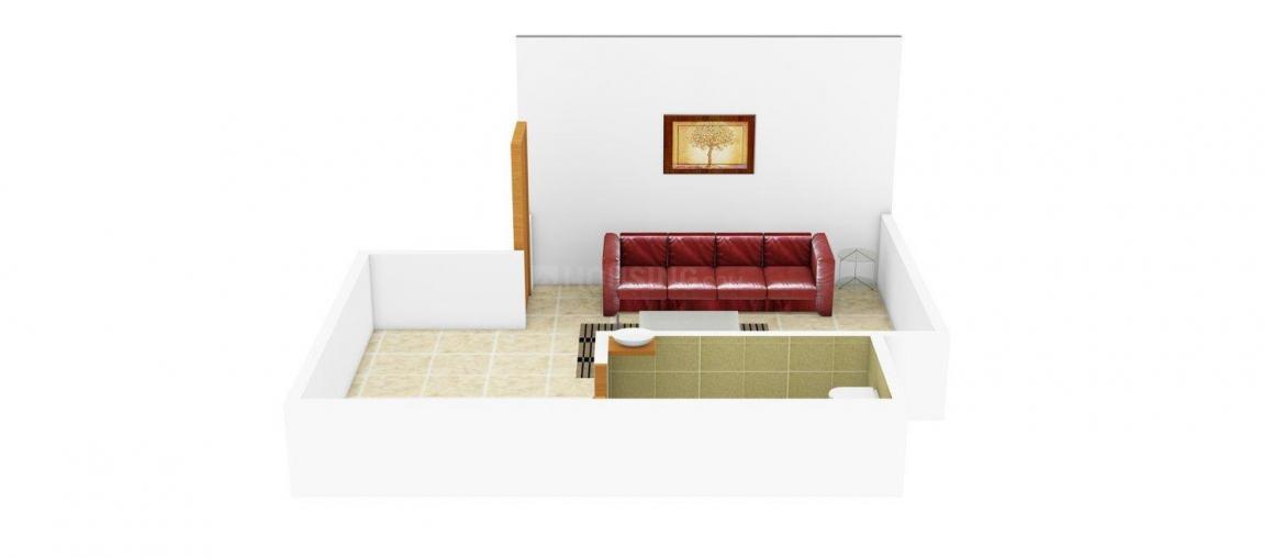 Floor Plan Image of 183.0 - 488.0 Sq.ft 1 RK Apartment for buy in Swashraya