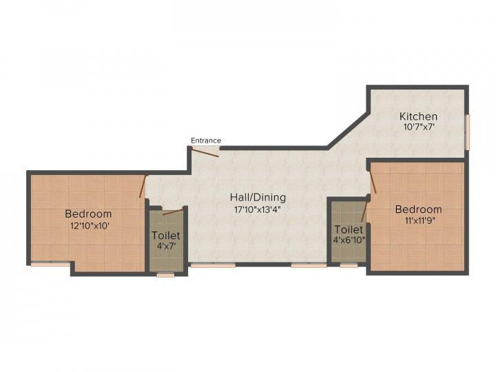 jkb housing royal garden in kolapakkam chennai 3 - Jkb Homes Floor Plans