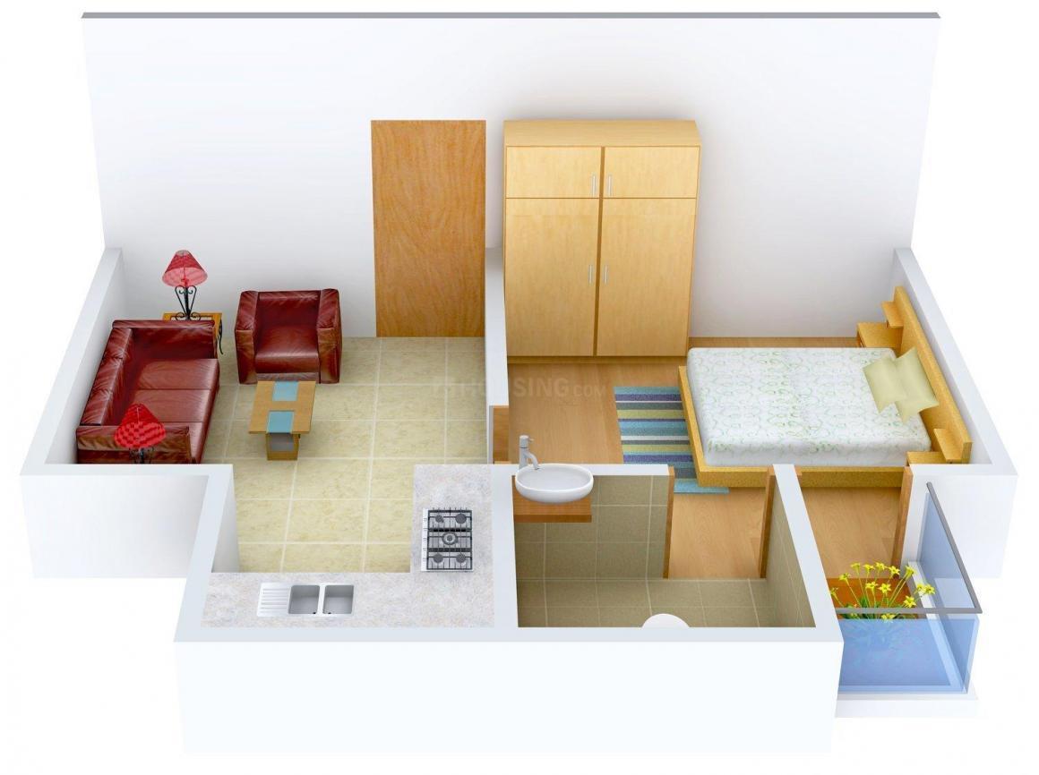 Floor Plan Image of 0 - 450 Sq.ft 1 BHK Independent Floor for buy in Gupta Builder Floor G - 519