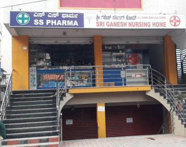 Hospitals & Clinics Image of 1200 Sq.ft 3 BHK Apartment for rentin GB Palya for 18000