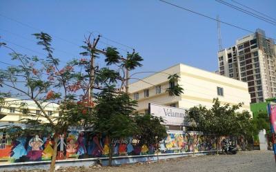 Schools & Universities Image of 1795 Sq.ft 3 BHK Apartment for buy in Vishranthi Sabari Terrace, Sholinganallur for 9000000