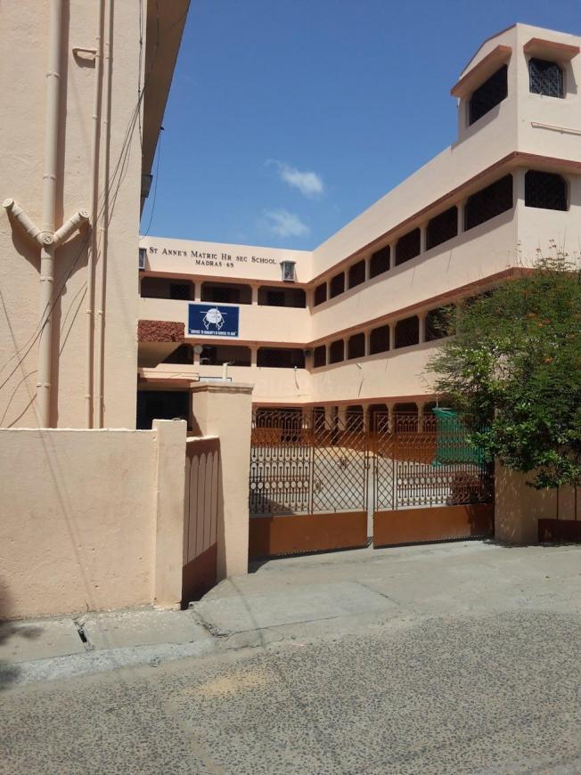 St Anne Matriculation Higher Secondary School Srinivasa Nagar