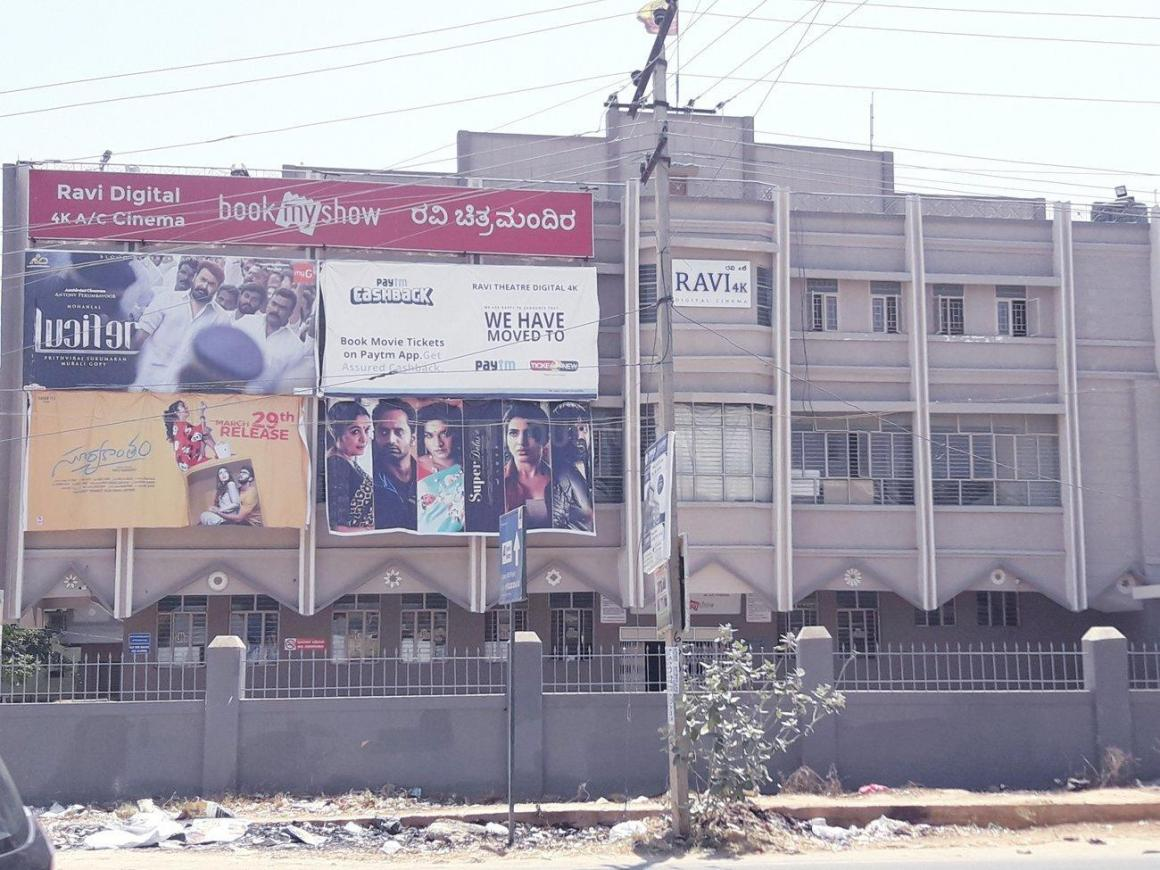 Movie Theatres Image of 568 Sq.ft 2 BHK Apartment for buy in Sarjapur for 5300000