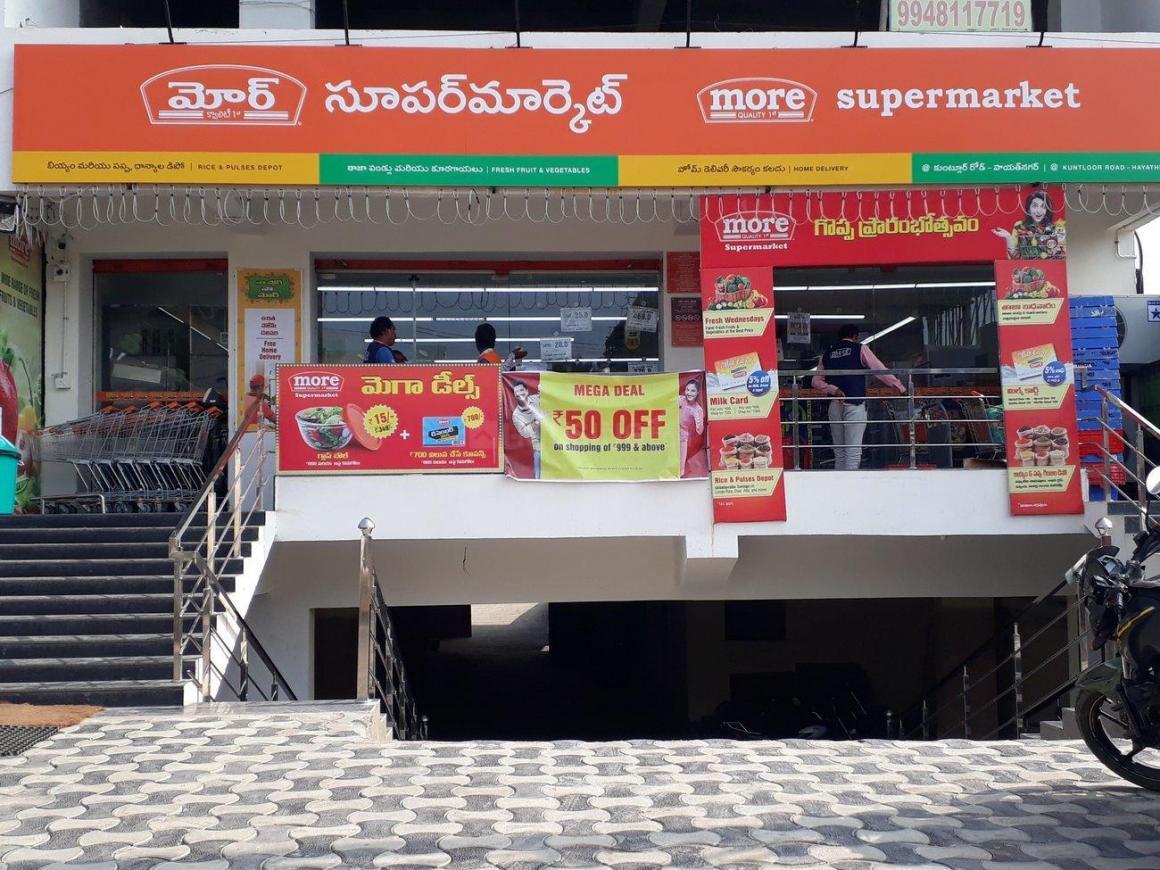 Groceries/Supermarkets Image of 0 - 1178.65 Sq.ft 2 BHK Apartment for buy in Sri Venkateshwara Sri Balaji Niliyam
