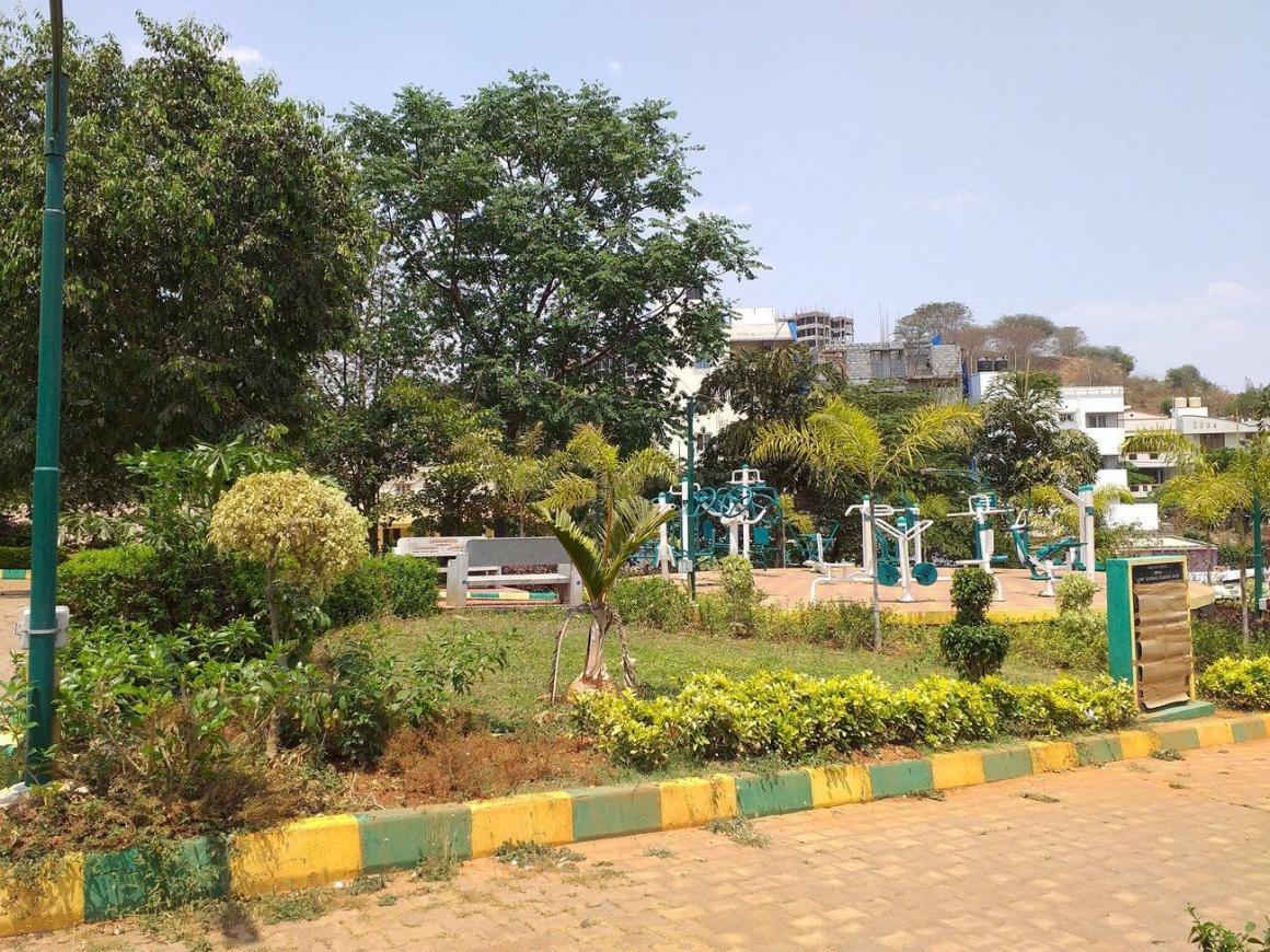 Parks Image of 600 Sq.ft 2 BHK Apartment for buy in Nagarbhavi for 13500000