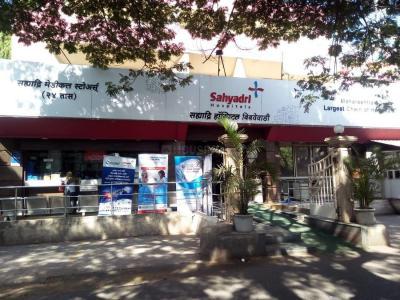 Hospitals & Clinics Image of 550 Sq.ft 1 BHK Apartment for rentin Bibwewadi for 13000