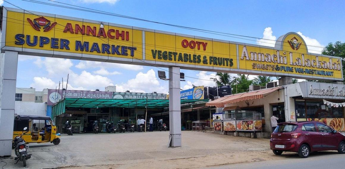 Groceries/Supermarkets Image of 1183 Sq.ft 3 BHK Apartment for buy in Ayappakkam for 6400000