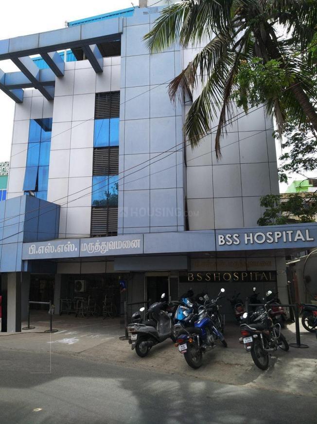 Hospitals & Clinics Image of 600 Sq.ft 1 BHK Apartment for buyin Raja Annamalai Puram for 6000000