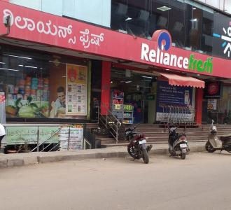 Groceries/Supermarkets Image of 1100 Sq.ft 2 BHK Apartment for buy in Malibu Pallazo, Bellandur for 5800000