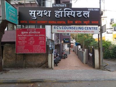 Hospitals & Clinics Image of 911 Sq.ft 2 BHK Apartment for buyin Dahanukar Regency, Kothrud for 11000000