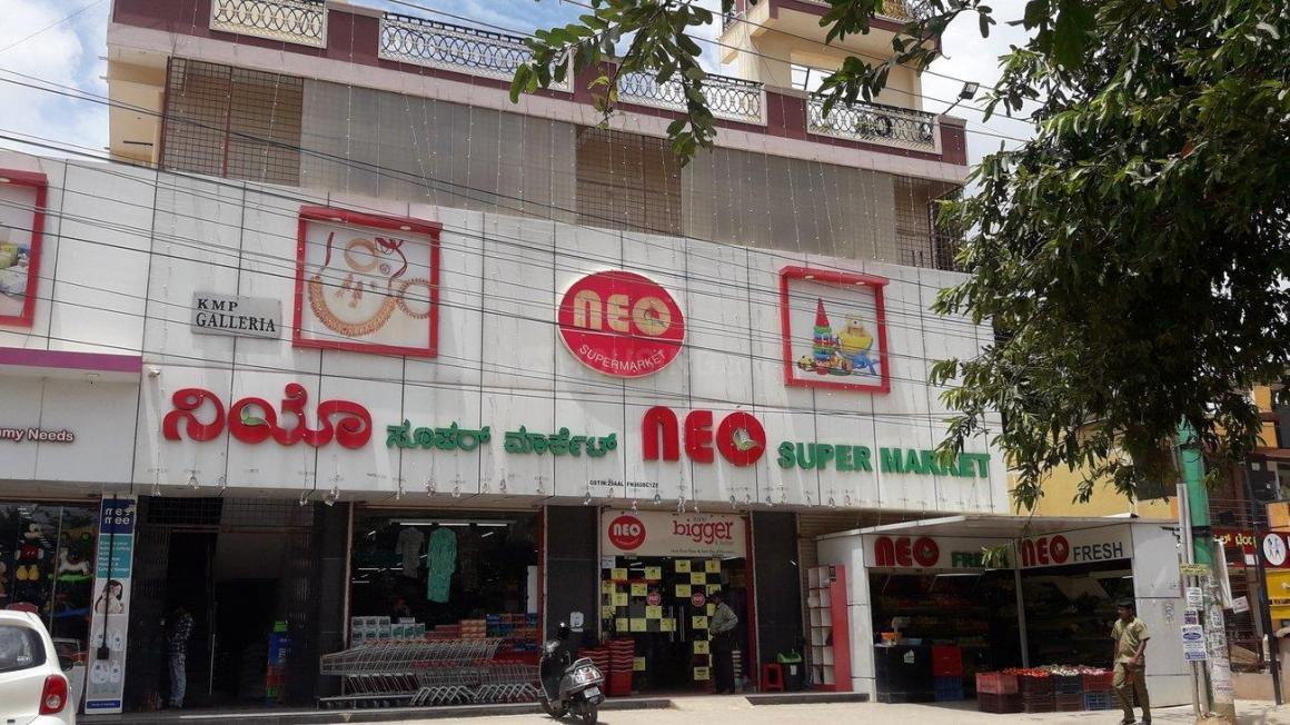 Groceries/Supermarkets Image of 465 - 1368 Sq.ft 1 BHK Apartment for buy in Mahaveer Orchids