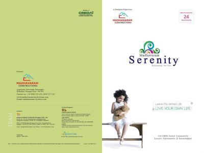 Madhavaram Serenity Brochure 1